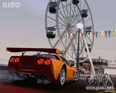 Chevrolet Corvette C6 Z06R GT3 v1.0.1 para GTA San Andreas left