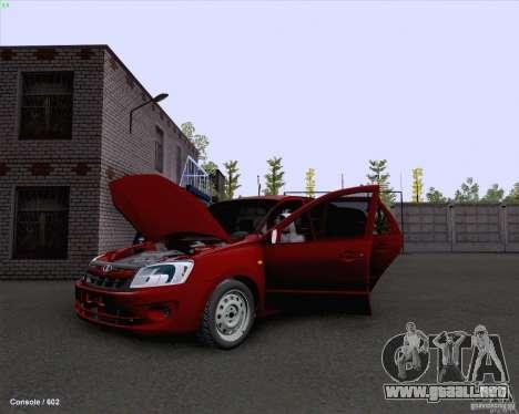 VAZ 2190 drenaje para la visión correcta GTA San Andreas