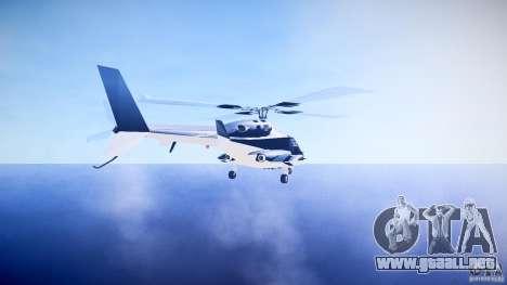 Airwolf v1.0 para GTA 4 Vista posterior izquierda