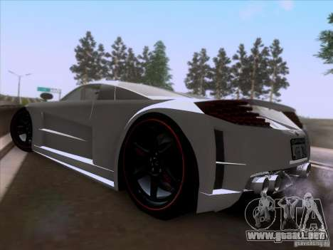 Chrysler ME Four-Twelve para GTA San Andreas vista posterior izquierda