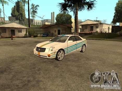 Cadillac CTS para vista lateral GTA San Andreas