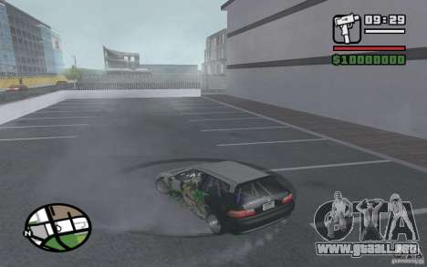 Honda Sivic deriva para la visión correcta GTA San Andreas