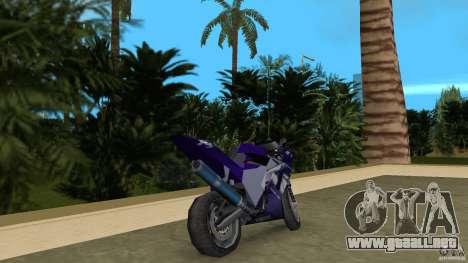 Yamaha YZF R1 para GTA Vice City vista lateral izquierdo