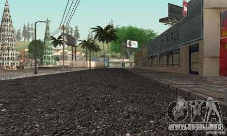 New Groove para GTA San Andreas quinta pantalla