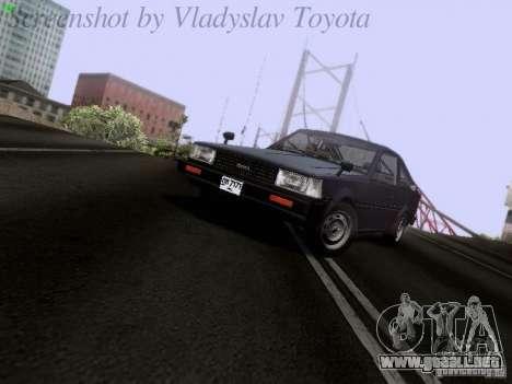 Toyota Corolla TE71 Coupe para GTA San Andreas left