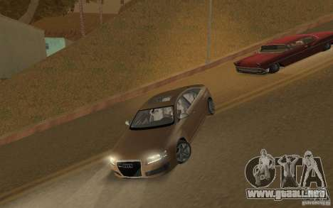 Audi RS6 TT Black Revel para GTA San Andreas left