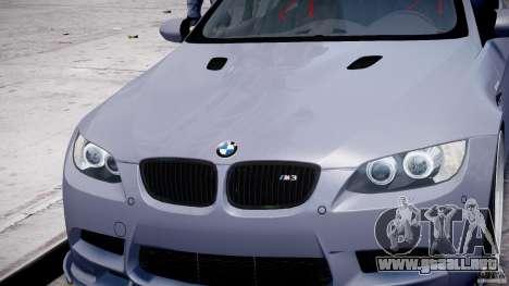 BMW M3 Hamann E92 para GTA 4 ruedas