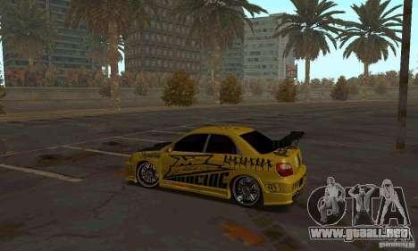 NFS Most Wanted - Paradise para GTA San Andreas sucesivamente de pantalla