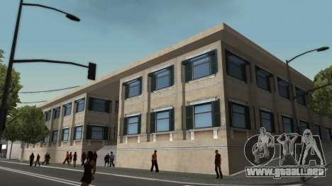 Estructura de garajes y edificios en SF para GTA San Andreas