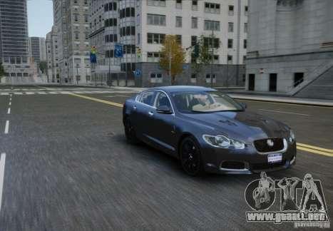 Jaguar XFR 2010 V.2.0 para GTA 4 visión correcta