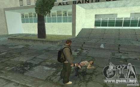 Animación del GTA IV para GTA San Andreas séptima pantalla
