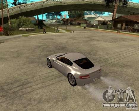 Aston Martin VANTAGE concept 2003 para GTA San Andreas left