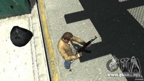 Red Army Mod (Realistic Weapon Mod) para GTA 4 tercera pantalla