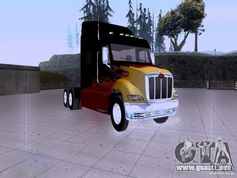 Peterbilt 387 para GTA San Andreas left