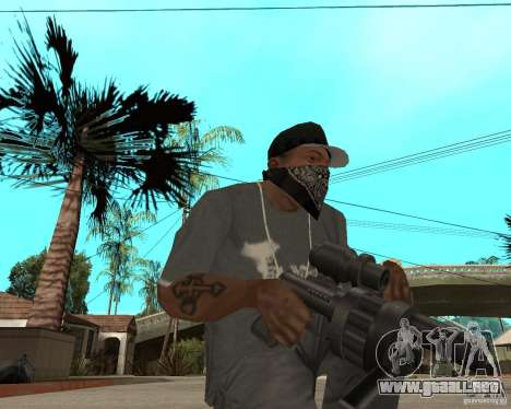 Shotgun in style revolver para GTA San Andreas segunda pantalla