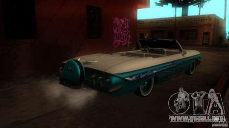 Chevy Impala SS 1961 para la visión correcta GTA San Andreas