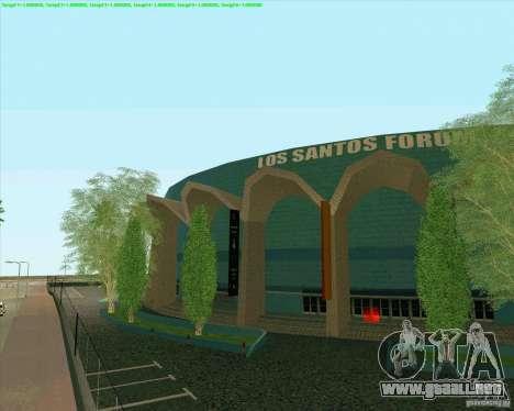 Nuevas texturas Los Santos Estadio Foro para GTA San Andreas segunda pantalla