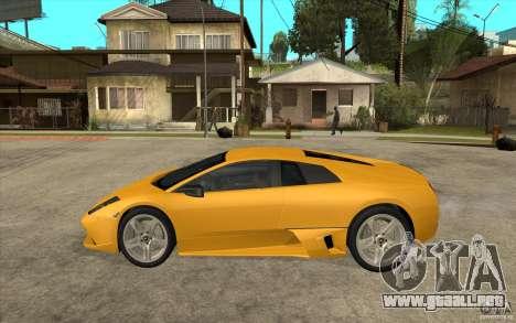 Lamborghini Murcielago LP640 para GTA San Andreas left
