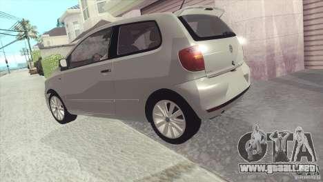 Volkswagen Fox 2013 para la visión correcta GTA San Andreas