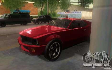 AMC Javelin 2010 para la visión correcta GTA San Andreas