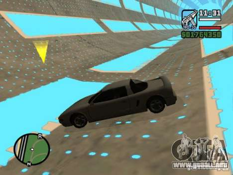 Krant race v2 para GTA San Andreas segunda pantalla