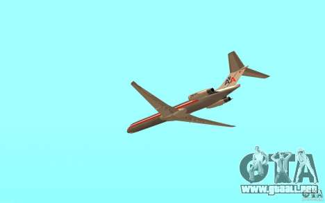 McDonnell Doeuglas MD-80 para GTA San Andreas