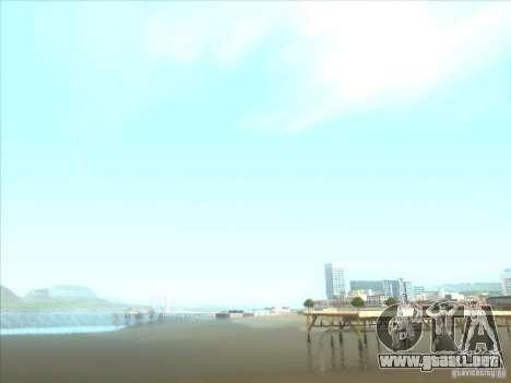 ENBSeries para PC media y débil para GTA San Andreas octavo de pantalla
