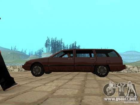 Suspensión de aire para GTA San Andreas segunda pantalla