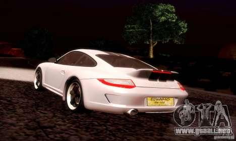 Porsche 911 Sport Classic para GTA San Andreas interior