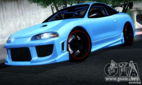 Mitsubishi Eclipse GSX 1999 para GTA San Andreas left