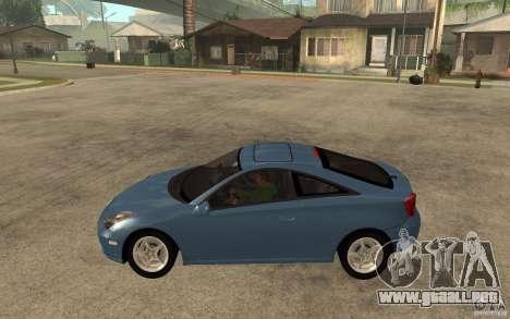 Toyota Celica SS2 para GTA San Andreas left