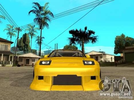 Nissan 240SX DRIFT SPEC para la visión correcta GTA San Andreas