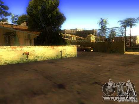 Armas en la calle Grove para GTA San Andreas quinta pantalla
