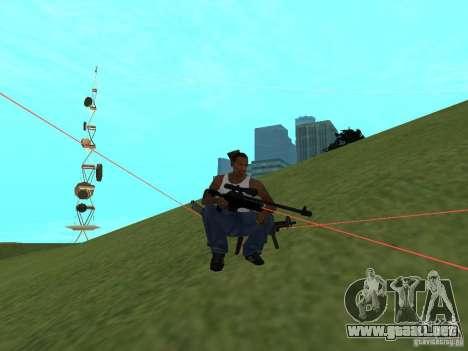 Laser Weapon Pack para GTA San Andreas octavo de pantalla