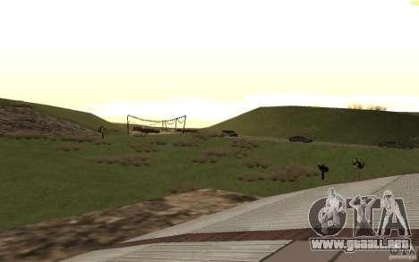 New desert para GTA San Andreas octavo de pantalla