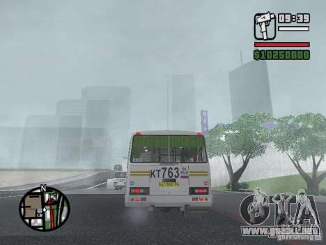 Paz-32054 para vista lateral GTA San Andreas