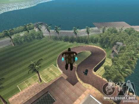 Mansión de la isla para GTA San Andreas segunda pantalla
