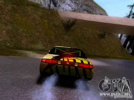 Nissan Silvia S14 Matt Powers v3 para vista lateral GTA San Andreas