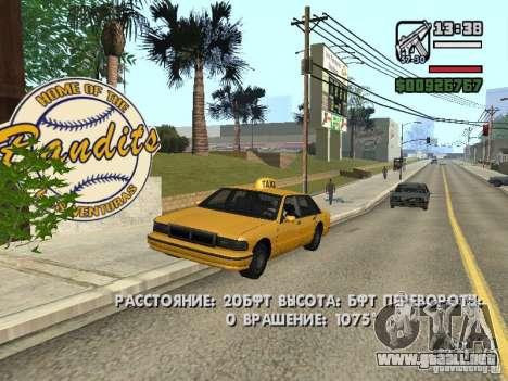 Tiempo real para GTA San Andreas