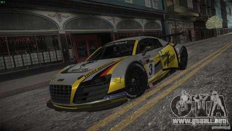 Audi R8 LMS para GTA San Andreas interior