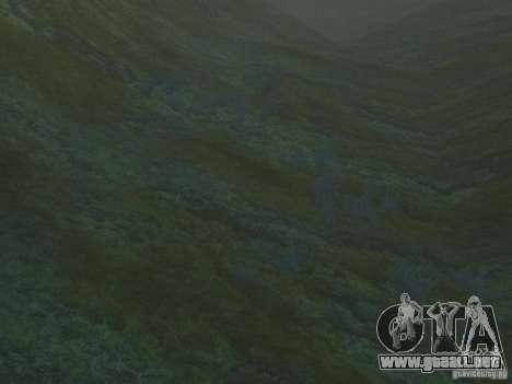 Texturas HD del fondo marino para GTA San Andreas tercera pantalla