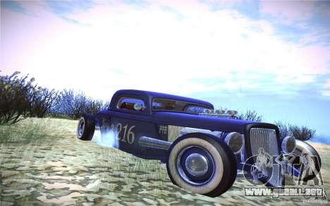 Ford Ratrod 1934 para GTA San Andreas left