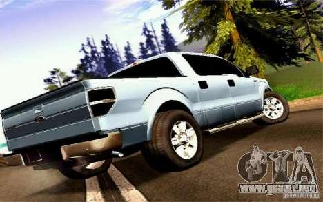 Ford Lobo 2012 para GTA San Andreas left