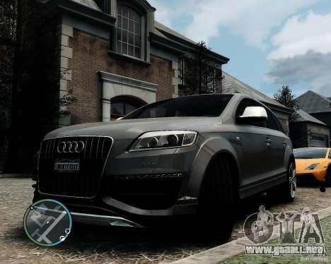 Audi Q7 V12 TDI Quattro Updated para GTA 4