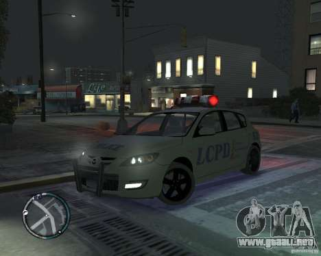 Mazda 3 Police para GTA 4