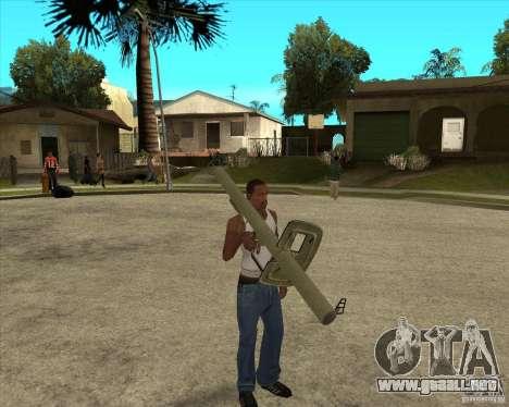 Armas de call of duty para GTA San Andreas segunda pantalla
