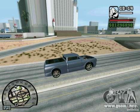 Salta sobre la autopista, en Las Venturase para GTA San Andreas quinta pantalla