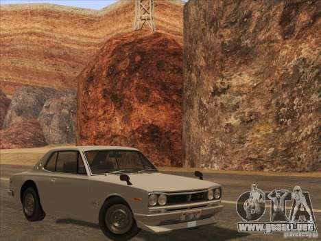 HQ Country Desert v1.3 para GTA San Andreas sexta pantalla