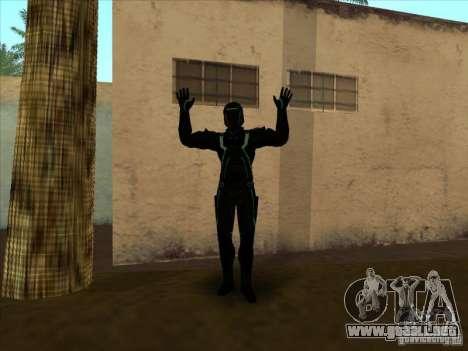Un personaje del juego Tron: Evolution para GTA San Andreas