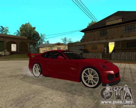 Ferrari 612 Scaglietti GTS LaMans TUNING para la visión correcta GTA San Andreas
